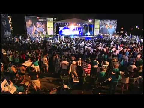 Cierre de Campaña PNP 2012 - Luis Fortuño, Pedro Pierluisi, Marc Anthony