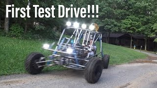 Honda VF 1000 buggy build part 13. test drive
