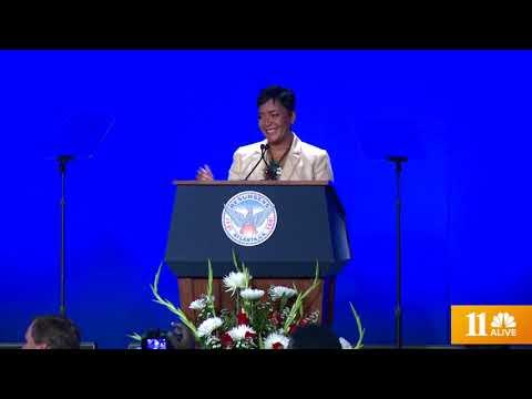 Atlanta Mayor Keisha Lance Bottoms gave 1st State of the City Address