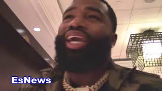 Adrien Broner Tell Amir B!@#% Ass Khan To Come Fight Me At 140 EsNews Boxing