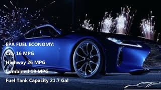 New Lexus LC500 2018 Facts + Specs !!! short review