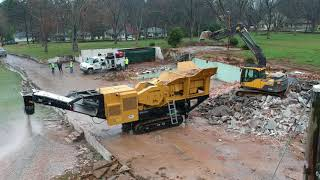 Video still for Central Atlanta Tractor Co. Demos New IRock Crusher & Screener Products in Atlanta, GA