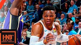 Los Angeles Lakers vs Oklahoma City Thunder Full Game Highlights | April 2, 2018-19 NBA Season