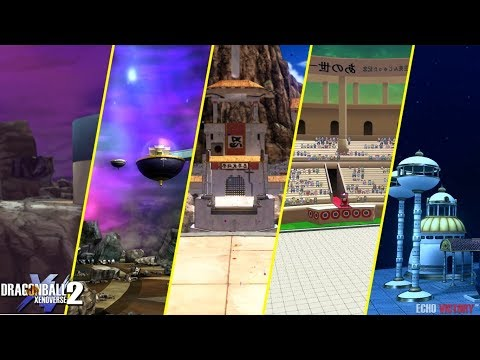 Dragon Ball Xenoverse 2 : TOP 5 High Quality Stage ever made [Mods] Part #3