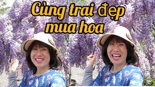Thuê trai đẹp đi mua hoa, người Việt ở Mỹ