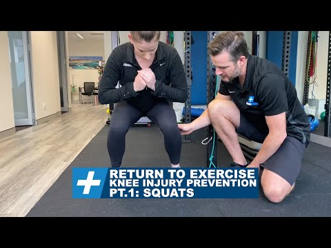 Knee pain and injury prevention when returning to exercise Pt.1 Squats | Tim Keeley | Physio REHAB