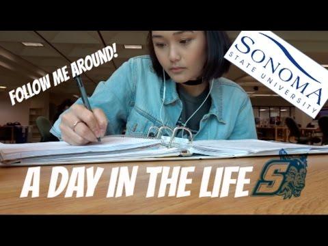 A Day In The Life: College Edition | SSU | Llieda Seno