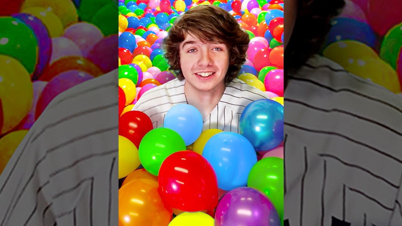 I Filled a Room With Balloons