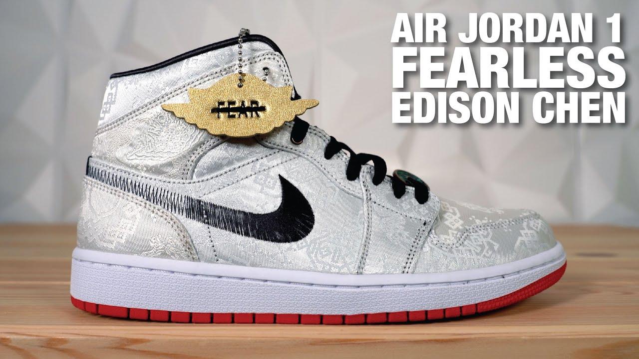 Air Jordan 1 Mid Fearless CLOT Edison