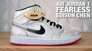 Air Jordan 1 Mid Fearless CLOT Edison Chen REVIEW & On Feet