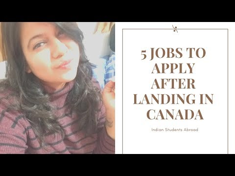 | 5 Survival Jobs For New Comers in Canada | Indian Students Abroad |