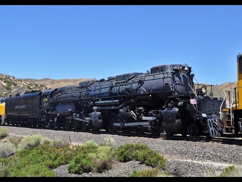Big Boy 4014 Steam Train: Headin' Home Tour