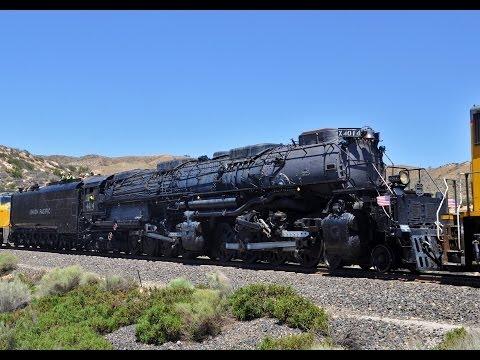 Big Boy 4014 Steam Train: Headin