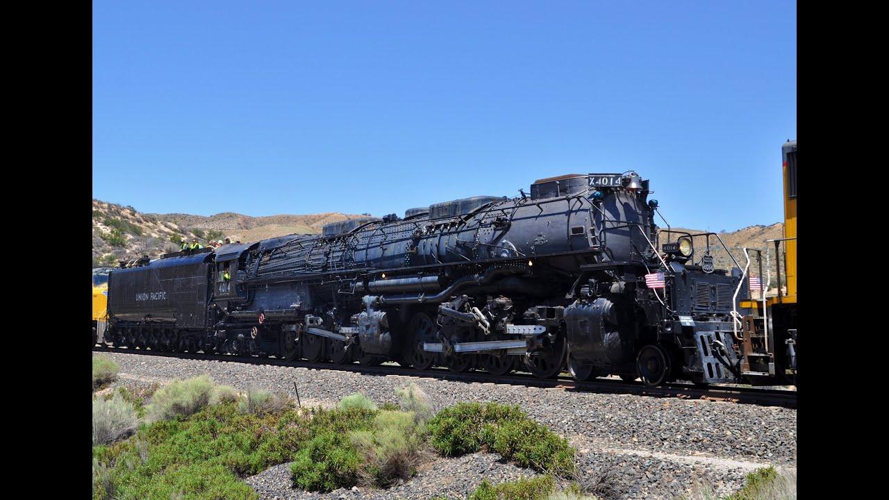 Car In Desert Hd Wallpaper Big Boy 4014 Steam Train Headin Home Tour Youtube
