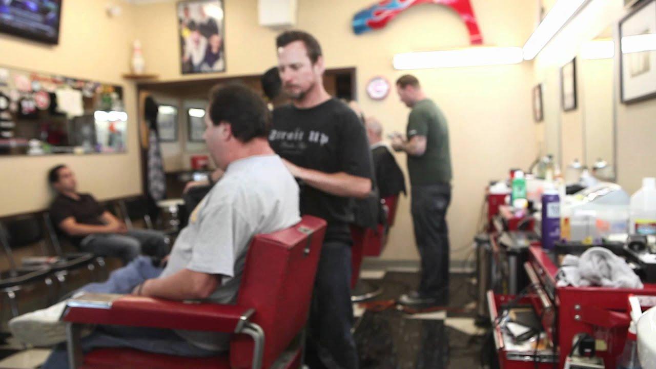 Strait Up Barber Shop - YouTube