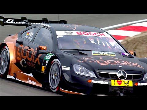 DTM Mercedes AMG C-Coupé Highlights 2014
