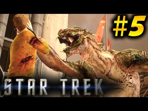 Star Trek Gameplay Walkthrough Part 5 - Gorn RETURN [2013]
