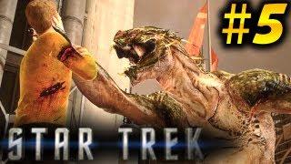 Star Trek Gameplay Walkthrough Part 5 - Gorn RETURN [2013]