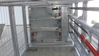 External Goods Lift Galvanised, Outside Goods Lift, Industrial Goods Lift, Goods Lifts