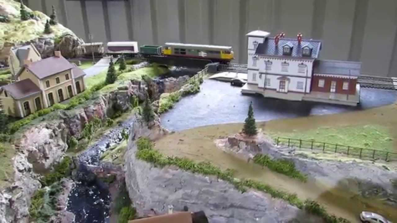 8x4 Ho Train Layouts