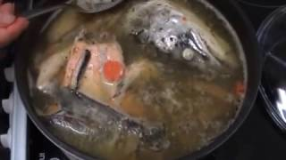 Уха из рыбьей головы