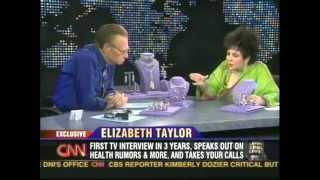 Elizabeth Taylor's Jewelry on Larry King