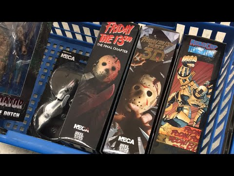 At Toys R Us. Testing LIVE! New NECA FIGZ