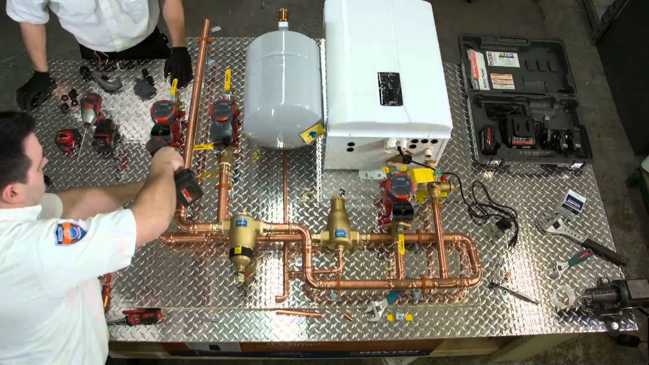 Navien Nhb Boiler Build Toronto Accuserv Youtube