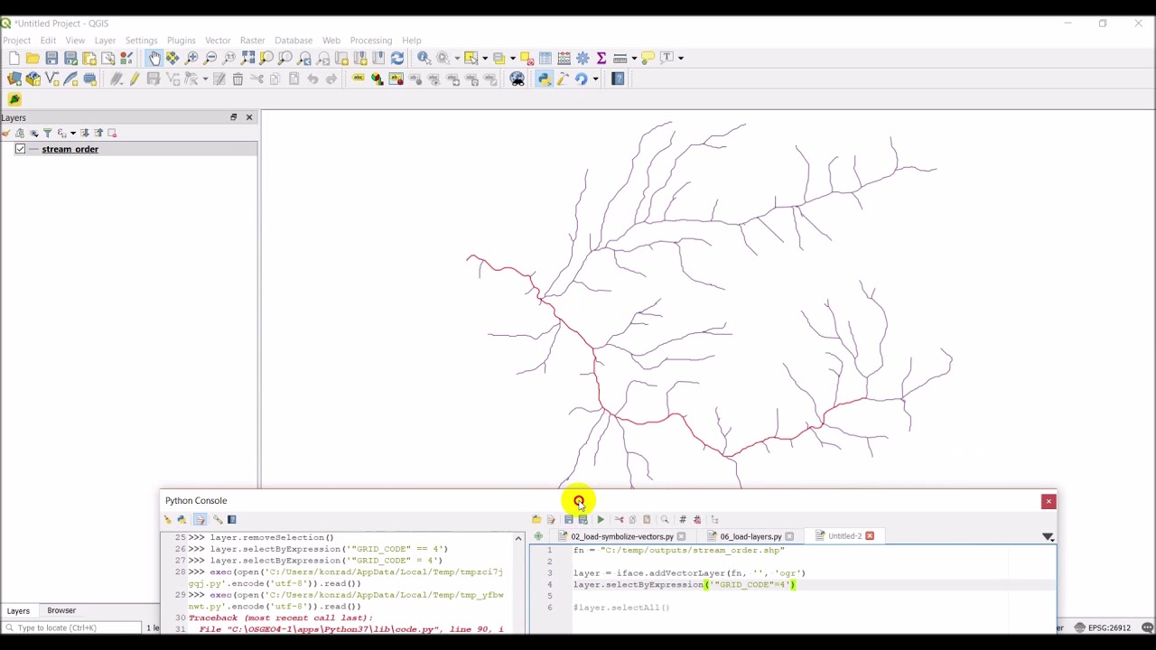 QGIS Python (PyQGIS) - Select features from a vector layer
