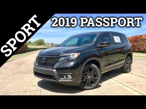 2019 Honda Passport Sport | Honda's Ultimate Adventure Vehicle
