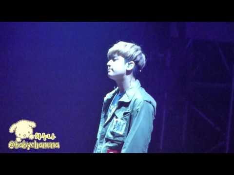 [Fancam] 160312 iKON Chanwoo - I Miss You So Bad @ iKONCERT Chiba(@babychanuna)