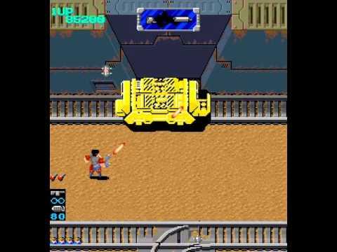 Arcade Longplay [634] Heavy Barrel