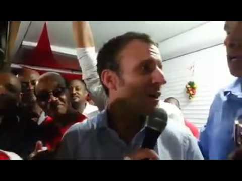 Macron en Guadeloupe