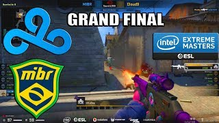GRAND FINAL - Cloud9 vs MIBR - IEM Katowice  2020 Qualifier - CS:GO