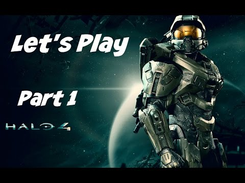 Let's Play: Halo 4 - Part 1 - No Commentary (Xbox One Gameplay/ 1080p HD)