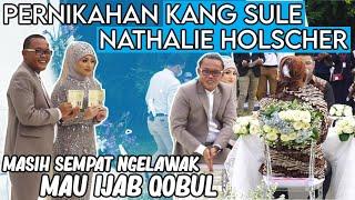 Pernikahan Kang Sule Dan Nathalie Holscher - Komedian Ketika Ijab Qobul masih sempet ngelawak !!!