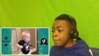 reaction if you laugh you lose funny kids fails vines compilation 2017 part 2   by life awesome