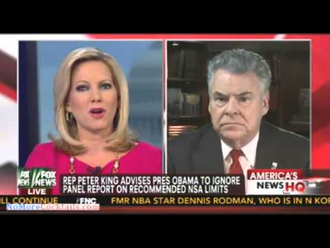 RINO Peter King calls NSA issue phony & advises Obama to ignore panel report on NSA spying limits