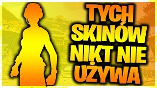 10 FREE SKINS THAT NOBODY USES IN FORTNITE!