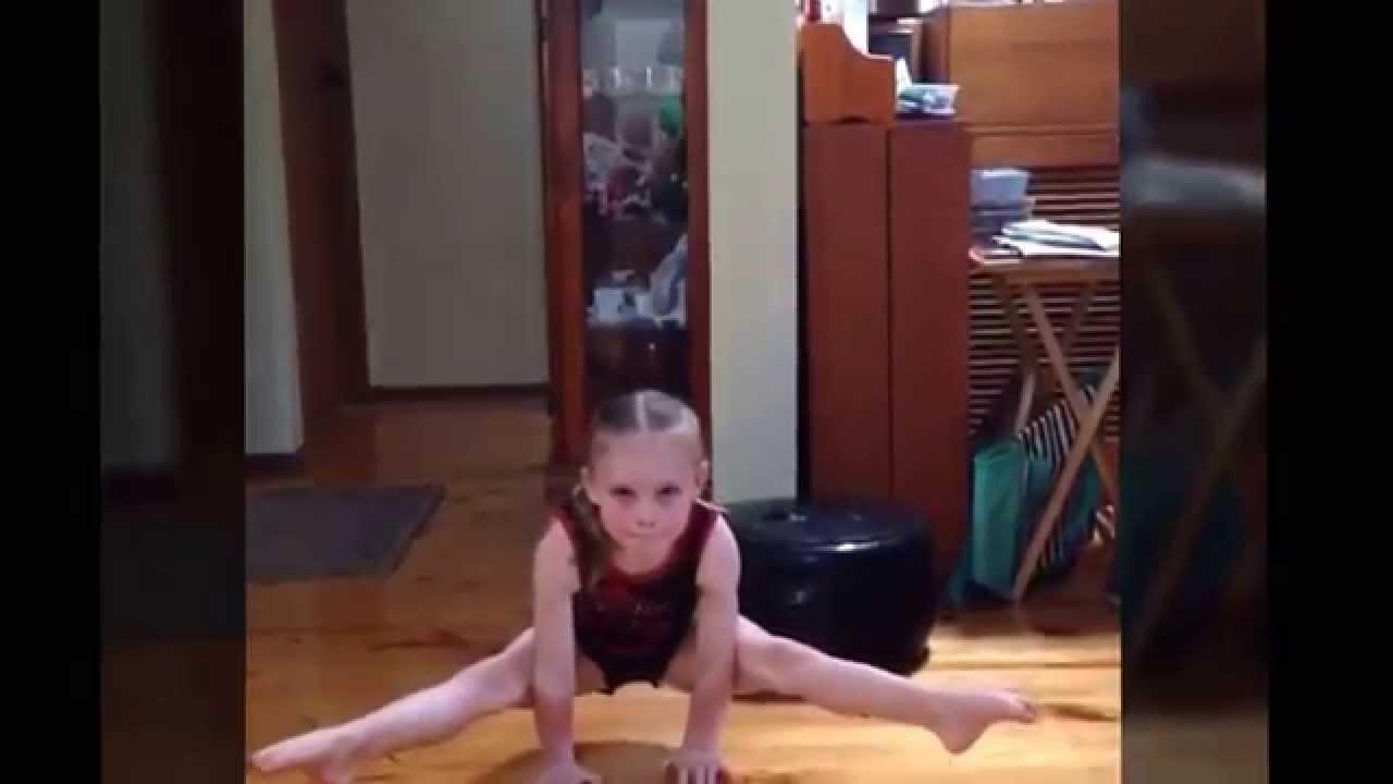 Amazing 6/7 year old gymnast Alana