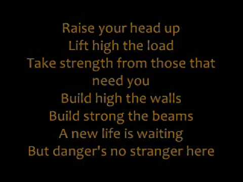 Phil Collins - Two Worlds with Lyrics