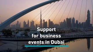 Support for business events in Dubai