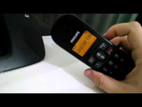 philips telefone sem fio dect 6 0 demonstra o youtube rh youtube com
