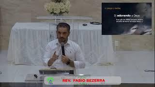 LIVE - IPMN  - ESTUDO BIBLICO   -  TEMA : UMA ATITUDE DE CONFIANÇA.  REV. FABIO BEZERRA
