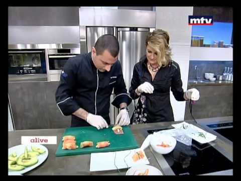 Whats Cooking - Smoked Salmon Paupiette With Shrimp - 27/01/2015