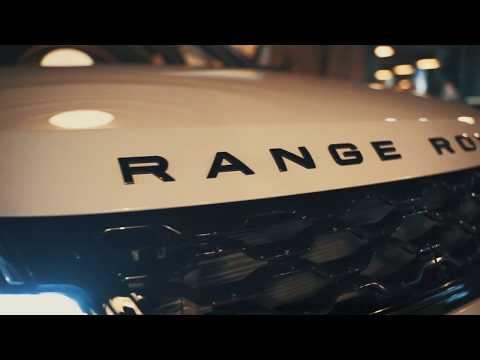 Презентация Нового Range Rover Evoque в АВИЛОН