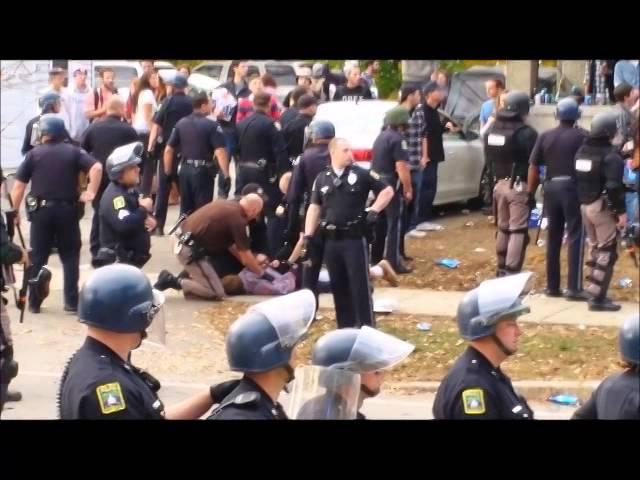 Pumpkin Fest Devolves into Riot in Keene, New Hampshire