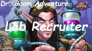 Hearthstone Puzzle Lab: Lab Recruiter - Dr. Boom Adventure (Projeto Cabum - Boomsday)
