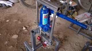 Hydraulic cylinder liner puller mechanical engineering mini project topics