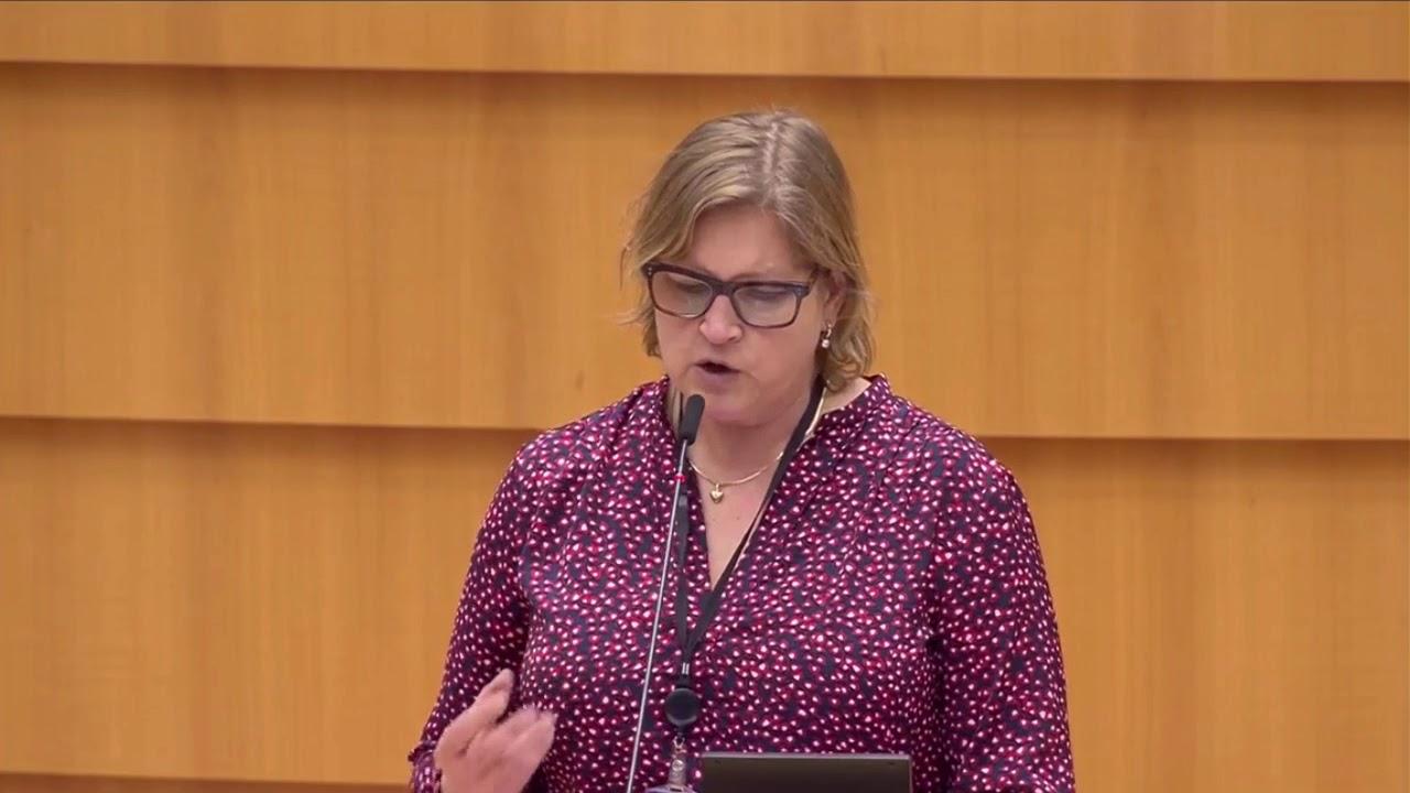 Karin Karlsbro 18 Jan 2021 plenary speech on international trade rules